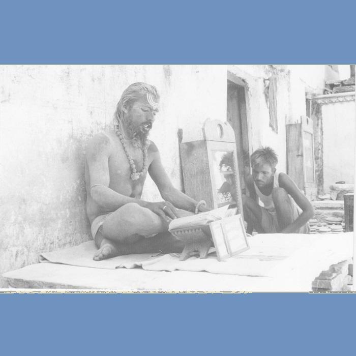 <strong>Il tempio di Brahma a Pushkar 1964</strong>